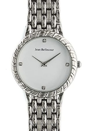 Jean Bellecour Womens Analogue Classic Quartz Watch with Stainless Steel Strap REDS21-SW