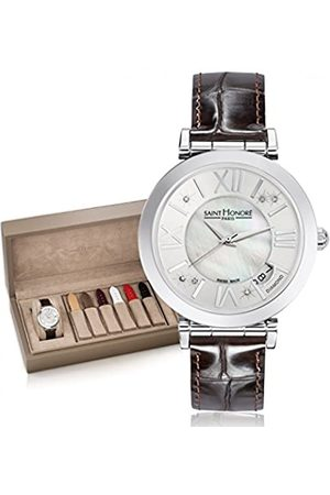 Saint Honore Women's Analogue Quartz Watch with Leather Strap 7664611YRDN