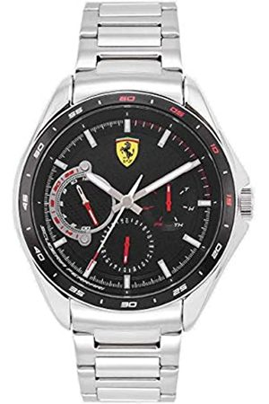Scuderia Ferrari Men's Analogue Quartz Watch with Stainless Steel Strap 0870037