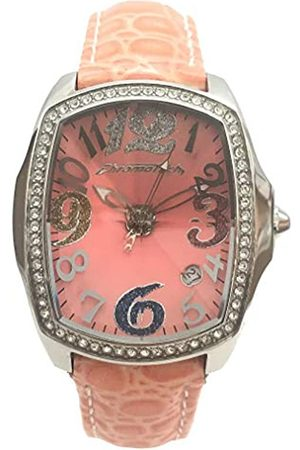 Chronotech Womens Analogue Quartz Watch with Leather Strap CT7896LS-67