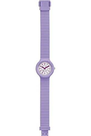 Hip Watch Woman Numbers Collection dial e watchband in Silicone Lilac