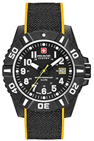 Swiss Military Mens Analogue Classic Quartz Watch with Silicone Strap 06-4309.17.007.79SM