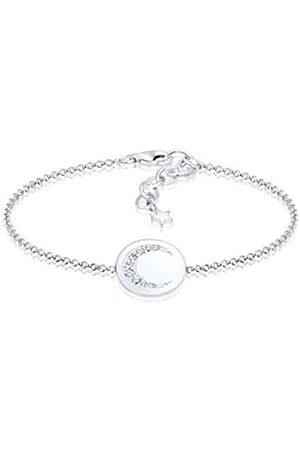 Elli Women's 925 Sterling Link Bracelet 0209522117_16 - 16cm length