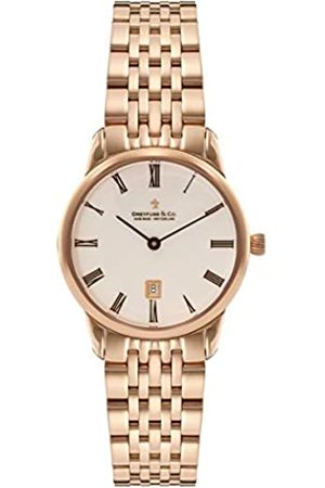 JÉRÔME DREYFUSS Womens Analogue Classic Quartz Watch with Stainless Steel Strap DLB00138/41