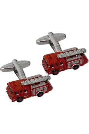 Fire Engine Cufflinks