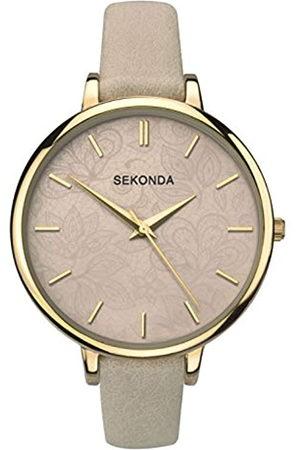 Sekonda Womens Analogue Classic Quartz Watch with PU Strap 2562.27