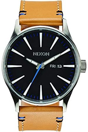 Nixon Men's Analogue Quartz Watch with Leather Strap A105-1602-00