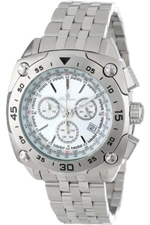 Burgmeister Men's Quartz Watch with Dial Analogue Display and Stainless Steel Bracelet BM326-111