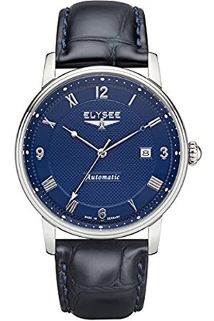 ELYSEE Unisex Adult Analogue Automatic Watch with Leather Strap 77021