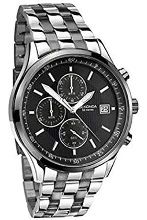 Sekonda Mens Chronograph Quartz Watch with Stainless Steel Strap 1576