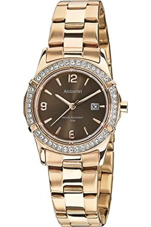 Accurist Womens Analogue Classic Quartz Watch with Stainless Steel Strap LB1543.01