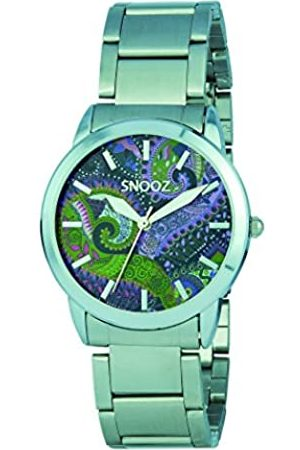 Snooz Women's Analogue Quartz Watch with Stainless Steel Strap Saa1038-85