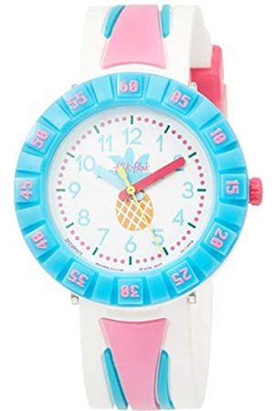 Flik Flak Girls Analogue Quartz Watch with Plastic Strap FCSP073