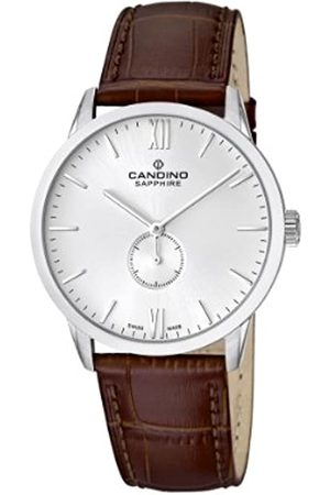 Candino Men's Quartz Watch with Dial Analogue Display and Leather Strap C4470/2