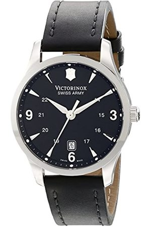 Victorinox Men's 241474 Quartz Watch with Dial Analogue Display and Leather Strap