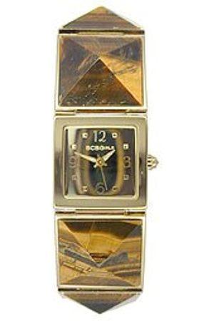 BCBG Max Azria BCB Girls Women's Quartz Watch with Dial Analogue Display and Metal Strap GL4055