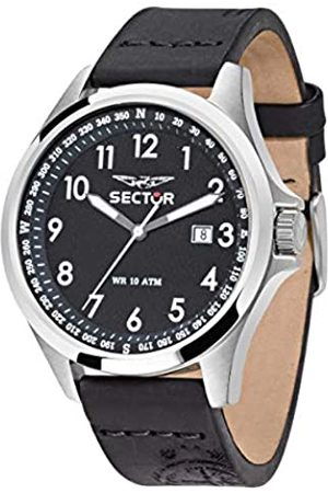 Sector Men's Analogue Quartz Watch with Leather Strap R3251180004