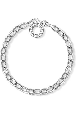 Thomas Sabo Women's 925 Sterling Charm Club Bracelet of Length 18 cm X0230-001-12-L18