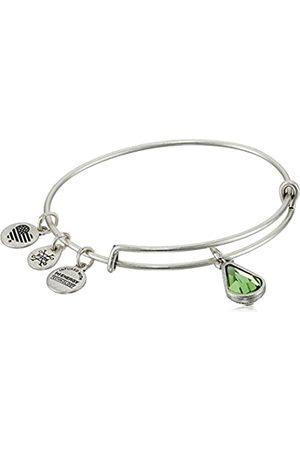 Alex And Ani Birth Month Charm with Swarovski Crystal Bangle Bracelet Expandable