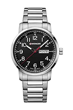 Wenger Men's Attitude Heritage - Swiss Made Analogue Quartz Stainless Steel Watch 01.1541.107
