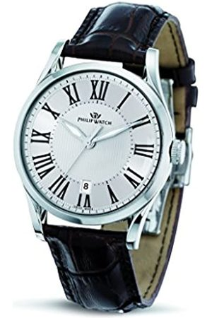 Philip Watch Philip Sunray Men's Quartz Watch with Dial Analogue Display and Leather Strap R8251180003