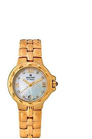 Oskar Emil Oskar-Emil Classic Casablance Women's Quartz Watch with Mother of Pearl Dial Analogue Display and Stainless Steel Plated Bracelet