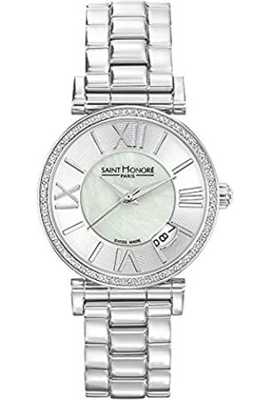 Saint Honore Women's Analogue Quartz Watch with Stainless Steel Strap 7521121YRN