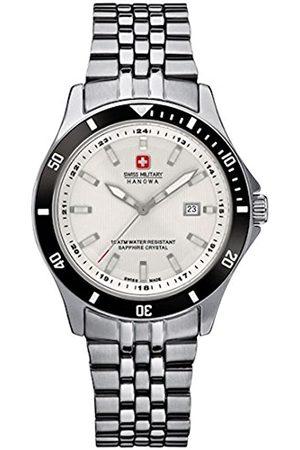 Swiss Military Hanowa Womens Analogue Quartz Watch with Stainless Steel Strap 06-7161.2.04.001.07
