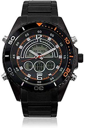Munich Unisex Adult Digital Quartz Watch with Rubber Strap MU+124.1B