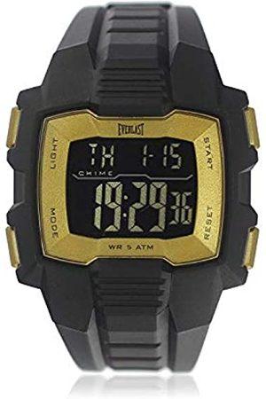 Everlast Unisex Adult Digital Quartz Watch with Plastic Strap EVER33-507-007
