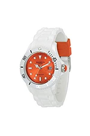 Madison New York New York Madison Candy Time Unisex Watch with Dial Analogue Display and Silicone Fashion U4359F