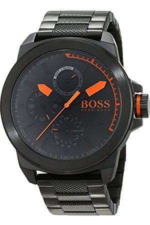 HUGO BOSS Orange New York Men's Quartz multi dial Stainless Steel Bracelet 1513157