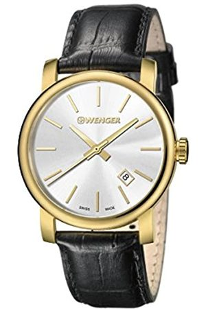 Wenger Men's Analogue Quartz Watch with Leather Strap 01.1041.119