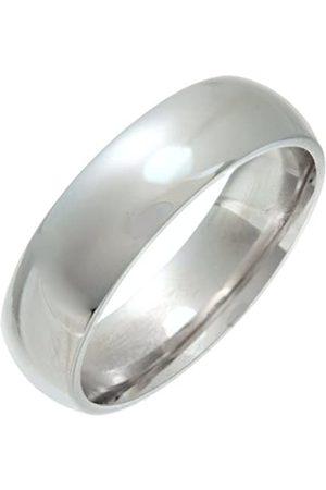THEIA Unisex Super Heavy 6 mm Court Shape Wedding Ring - T