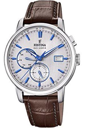 Festina Men's Chronograph Quartz Watch with Leather Strap F20280/2