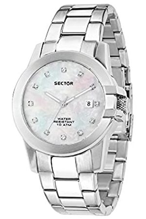 Sector Womens Analogue Quartz Watch with Stainless Steel Strap R3253597501