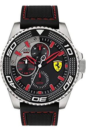 Scuderia Ferrari Mens Analogue Classic Quartz Watch with Silicone Strap 0830467