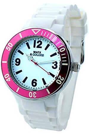Watx Analogue Quartz Watch with Rubber Strap RWA1623-C1519