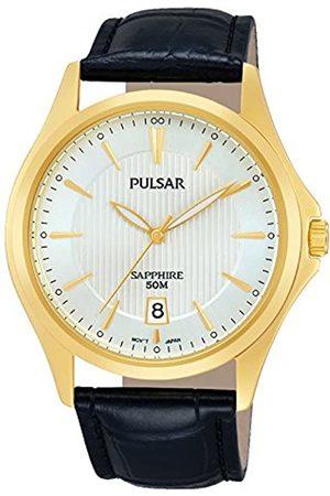 Pulsar Men's Watch Analogue Quartz Leather PS9386X1