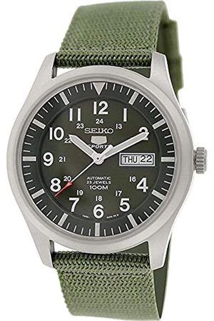 Seiko Men's Analogue Automatic Watch with Textile Strap – SNZG09K1
