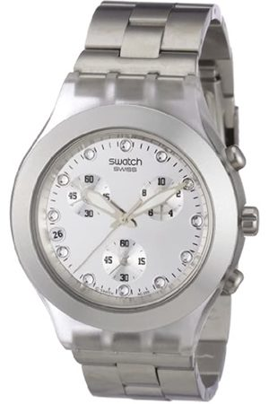 Swatch Mens Chronograph Watch Core Collection Full-Blooded SVCK4038G