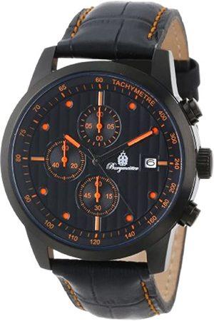 Burgmeister Men's Chronograph Quartz Watch with Leather Strap – BM607-620C