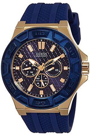 Guess Men's Chronograph Quartz Watch with Silicone Strap – W0674G2