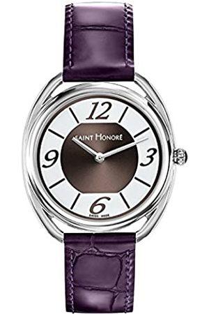Saint Honoré Women's Analogue Quartz Watch with Leather Strap 7210221AGB