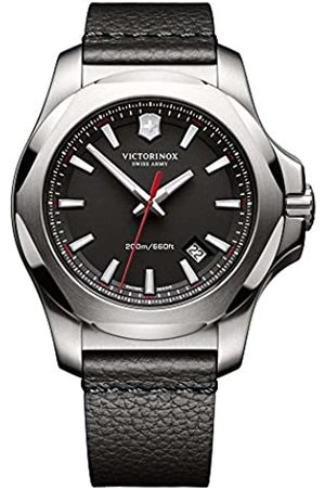 Victorinox Swiss Army Unisex Analogue Quartz Watch with Leather Strap 241737