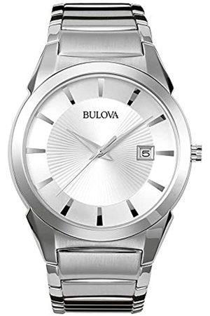 Bulova Men's Analogue Classic Quartz Watch with Stainless Steel Strap 96B015