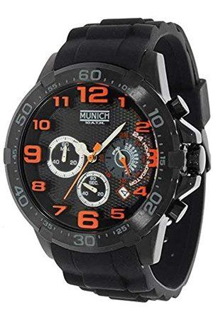 Munich Unisex Adult Analogue Quartz Watch with Rubber Strap MU+137.1B