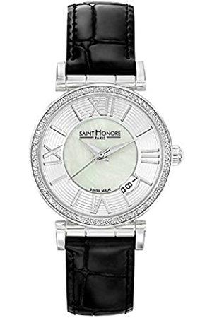 Saint Honoré Women's Analogue Quartz Watch with Leather Strap 7520121YRN