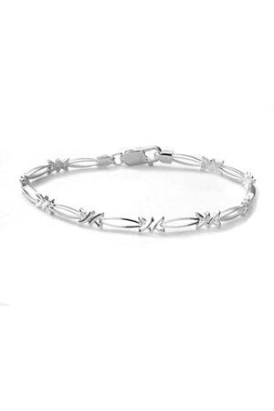 Citerna Sterling Kiss Link Bracelet of 18.4 cm