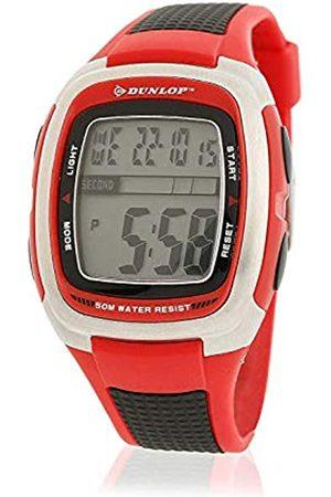 Dunlop Unisex Adult Digital Quartz Watch with Rubber Strap DUN85G07